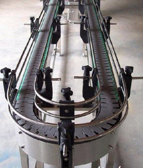 環形平頂鏈板輸送機